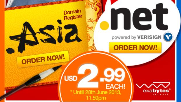 exabytes net asia domain 2.99