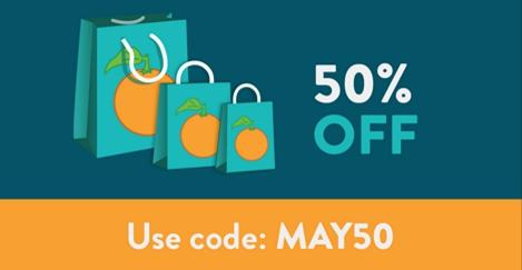 A Small Orange Earth 50 percents sale