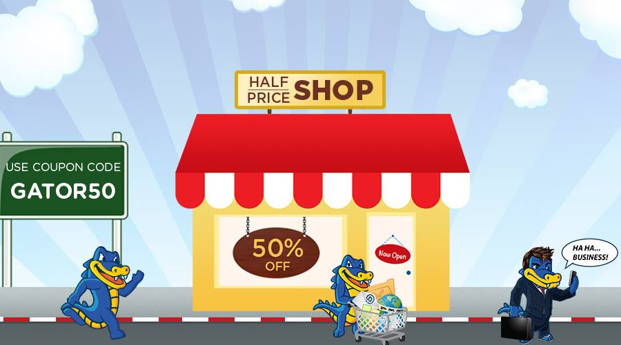 HostGator India sale 50