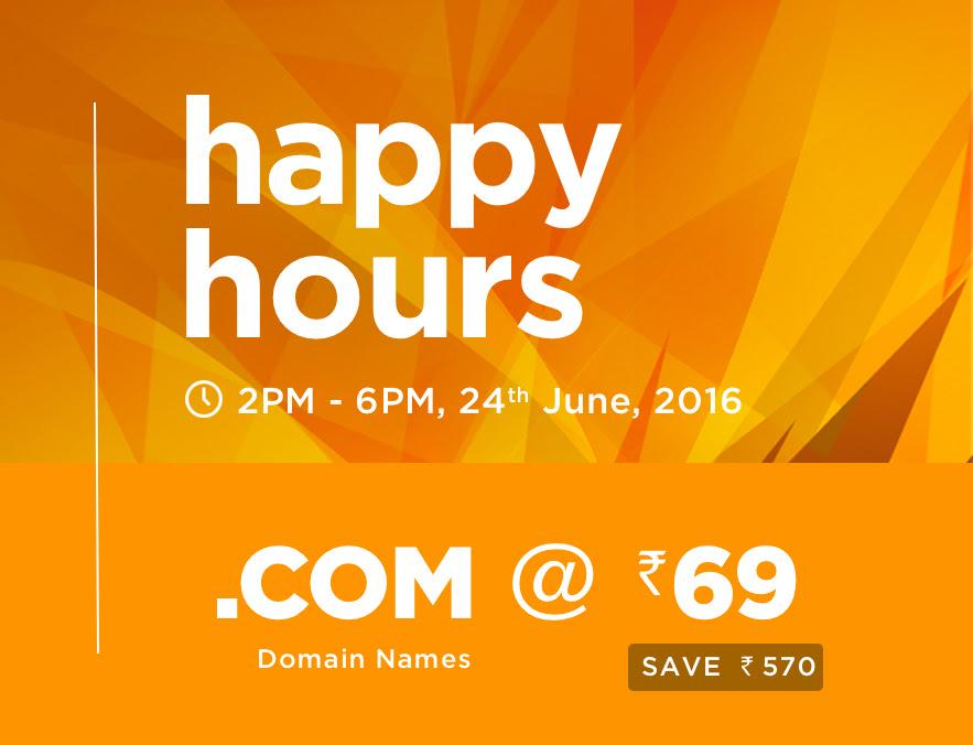 .COM Domain Rs 69 at BigRock