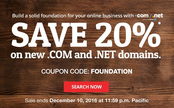 Discount domain club coupon