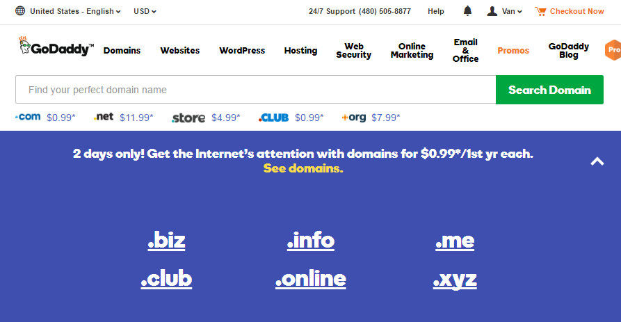 INFO CLUB ONLINE XYZ And ME Will Cost At Just 099 For The First Year Each There Is No Restriction On Number Of Domain A Customer Can