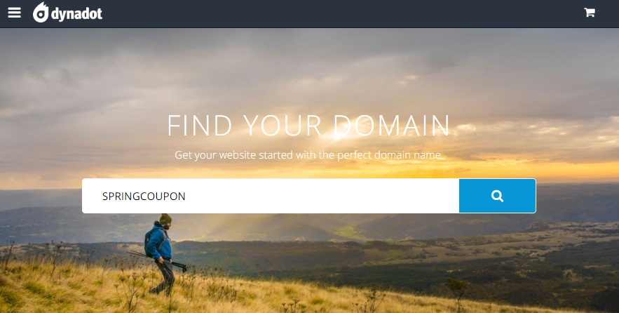Dynadot May Savings Domain Names From 0 99 Only Spring Coupon